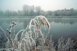 První sníh - zima 2014