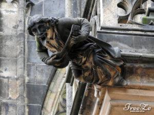 Chrliči na katedrále svatého Víta, Václava a Vojtěcha