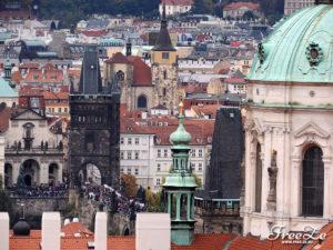 Výhled na Prahu - Karlův most
