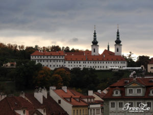 Výhled na Prahu - Strahovský klášter