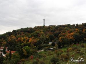 Výhled na Prahu - Petřín
