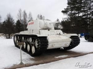 """Tank KV-1, muzeum """"Proražení blokády Leningradu"""""""