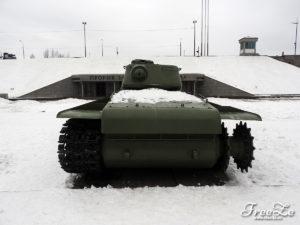 """Tank KV-1S, muzeum """"Proražení blokády Leningradu"""""""