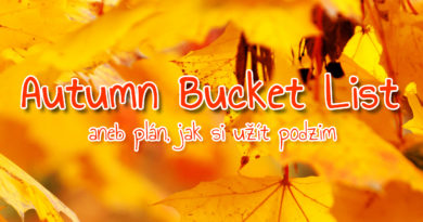 Autumn Bucket List aneb plán, jak si užít podzim