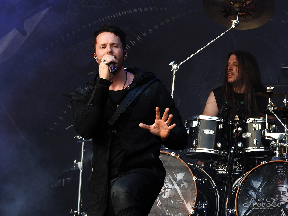 Tommy Karevik (Kamelot) na Masters of Rock 2018