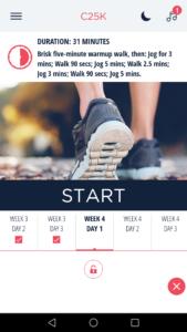 Jak začít běhat: C25K