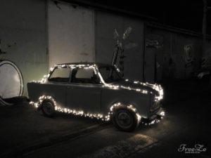 Festival světla BLIK BLIK: Trabant :-)