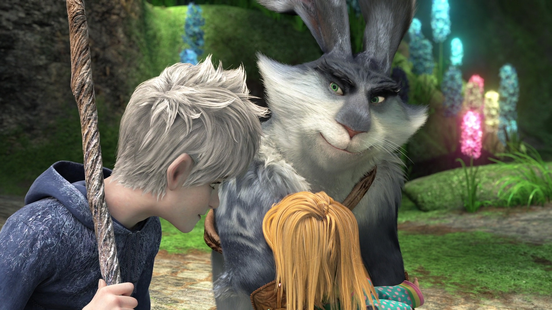 Legendární parta - Jack Frost a Zajda | Autor: DreamWorks