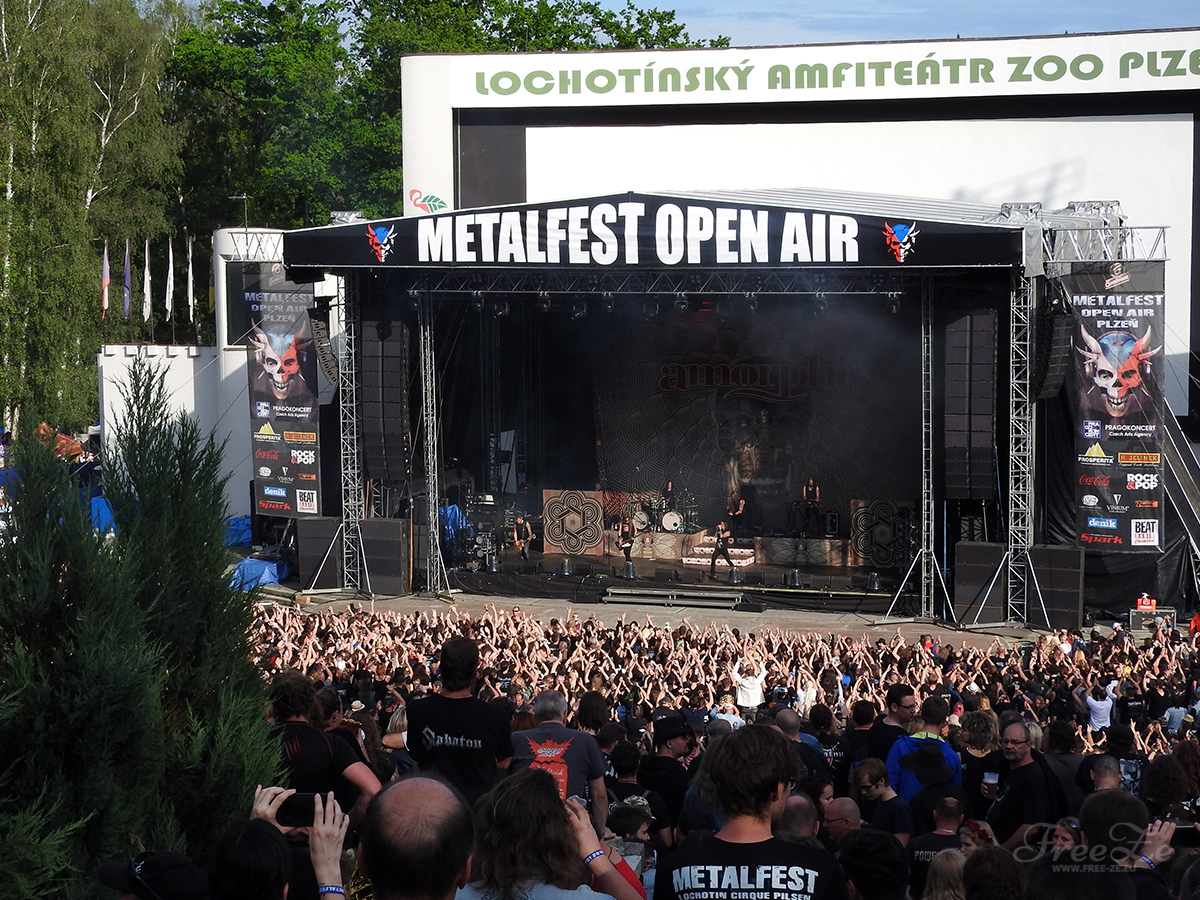 MetalFest 2019, den 1.: Amorphis on stage
