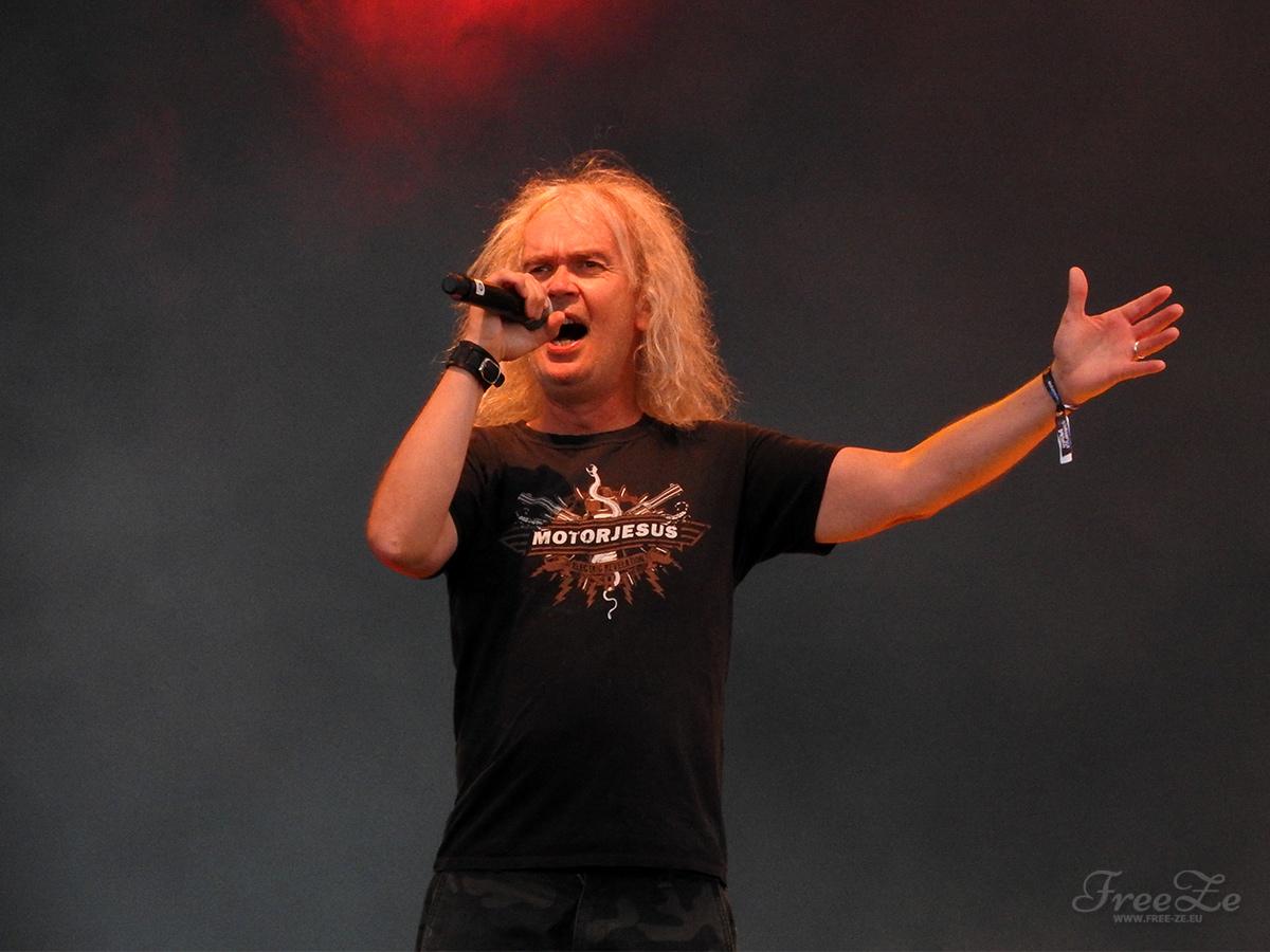 Grave Digger na festivalu Ostrava v plamenech 2019