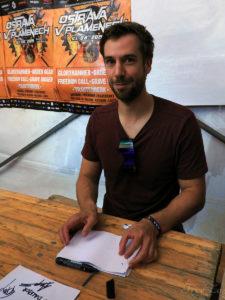 Angus McFife / Thomas Laszlo Winkler na festivalu Ostrava v plamenech 2019