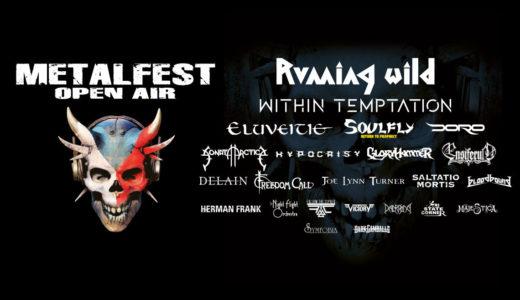 MetalFest 2020 nabídne Within Temptation, Running Wild nebo Doro