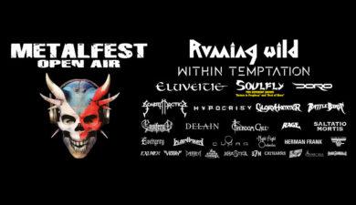 MetalFest 2021 nabídne Within Temptation, Running Wild nebo Doro