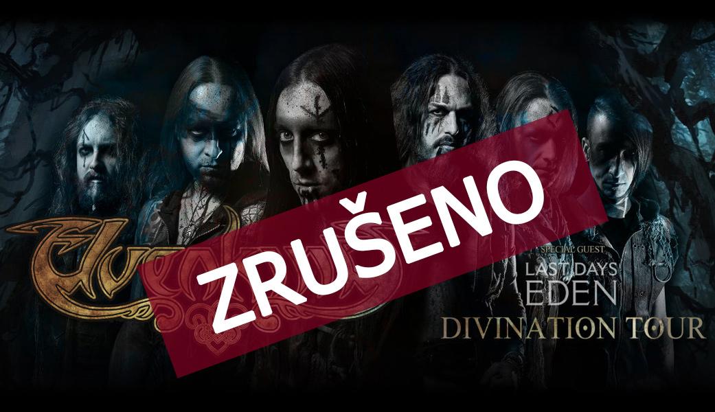 Koncert Elvenking v Nové Chmelnici byl bohužel zrušen