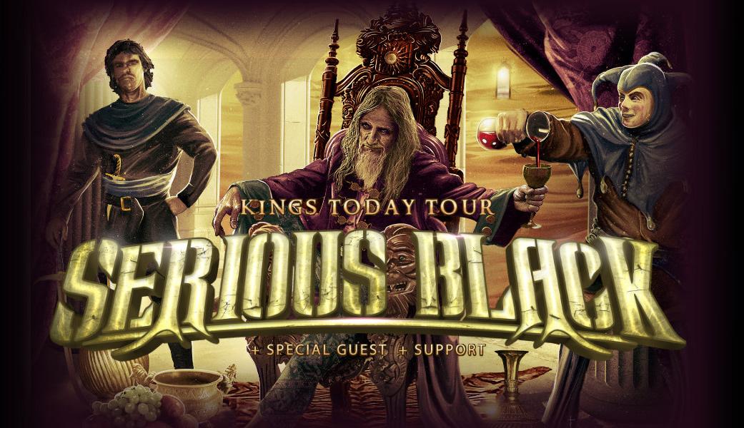 Serious Black se 10. října 2020 představí v Praze
