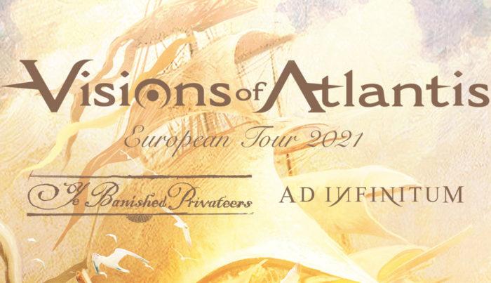Visions of Atlantis vystoupí 30. září 2021 v Praze a 2. října 2021 ve Zlíně.