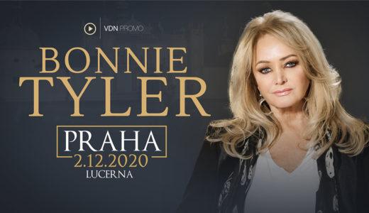 Bonnie Tyler vystoupí v Praze 2. prosince 2020