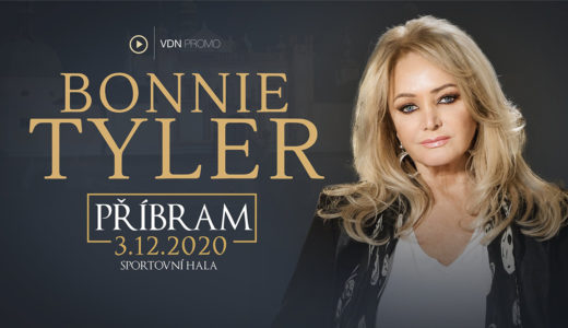 Bonnie Tyler vystoupí v Příbrami 3. prosince 2020