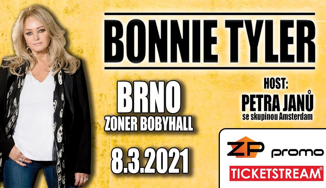 Bonnie Tyler vystoupí 8. března 2021 v Brně