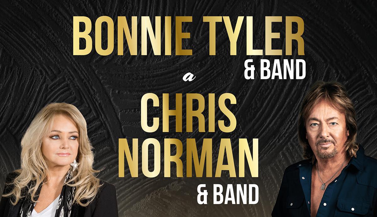 Bonnie Tyler a Chris Norman vystoupí v Liberci 12. března 2021