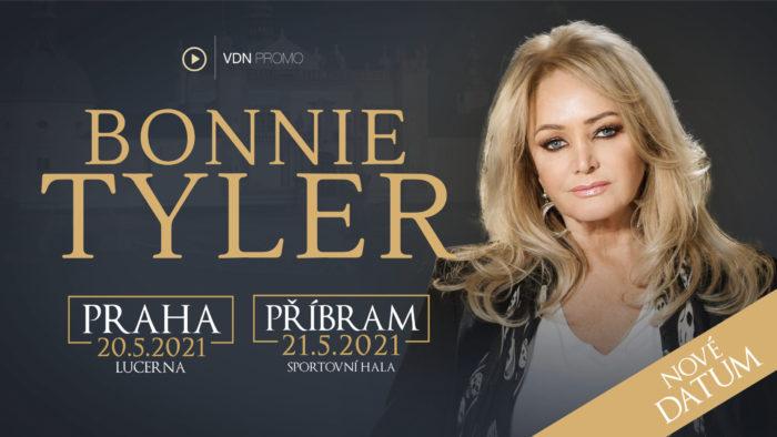 Slavná velšská zpěvačka Bonnie Tyler v květnu dvakrát vystoupí v České republice - 20. května 2021 ve Velkém sále Lucerny a 21. května 2021 ve Sportovní hale Příbram.