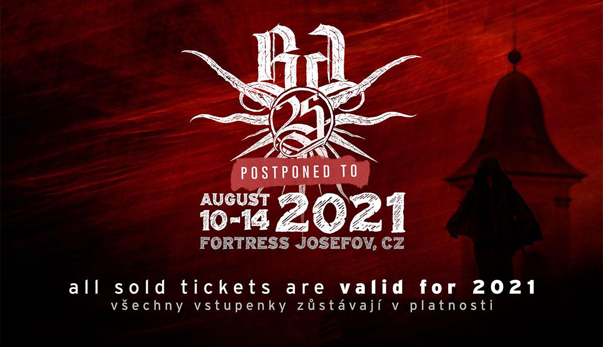 Brutal Assault proběhne 10. až 14. srpna 2021