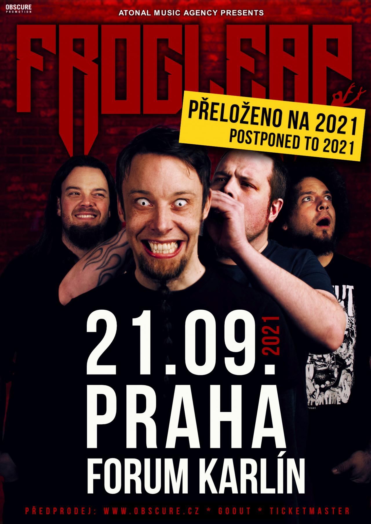 Leo Moracchioli a Frog Leap vystoupí v Praze 21. září 2021