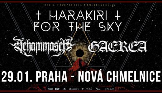 Harakiri for the Sky se 29. ledna 2021 zastaví v pražské Nové Chmelnici