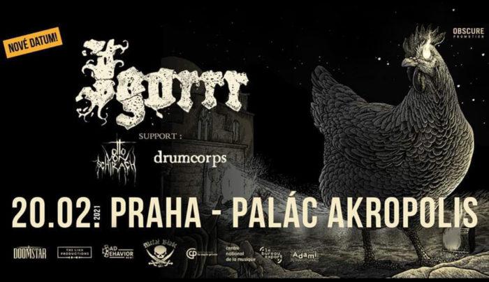 Igorrr vystoupí 20. února 2021 v Paláci Akropolis