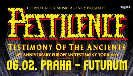 Pestilence se 6. února 2021 zastaví v pražském Futurum