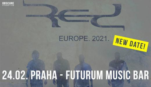 Red vystoupí 24. února 2021 ve Futurum Music Bar