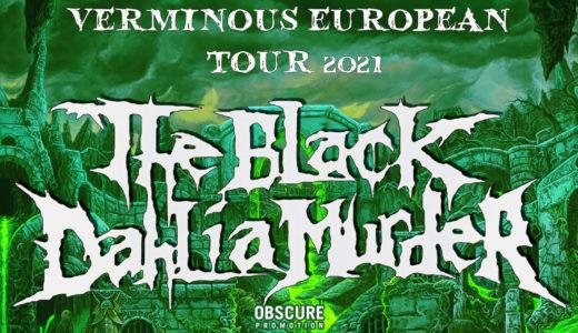 The Black Dahlia Murder 11. ledna 2021 zahraje v Praze