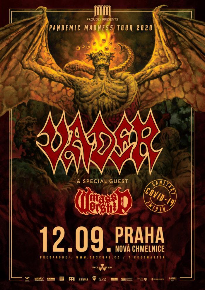 Polští Vader vystoupí 12. září v pražské Nové Chmelnici