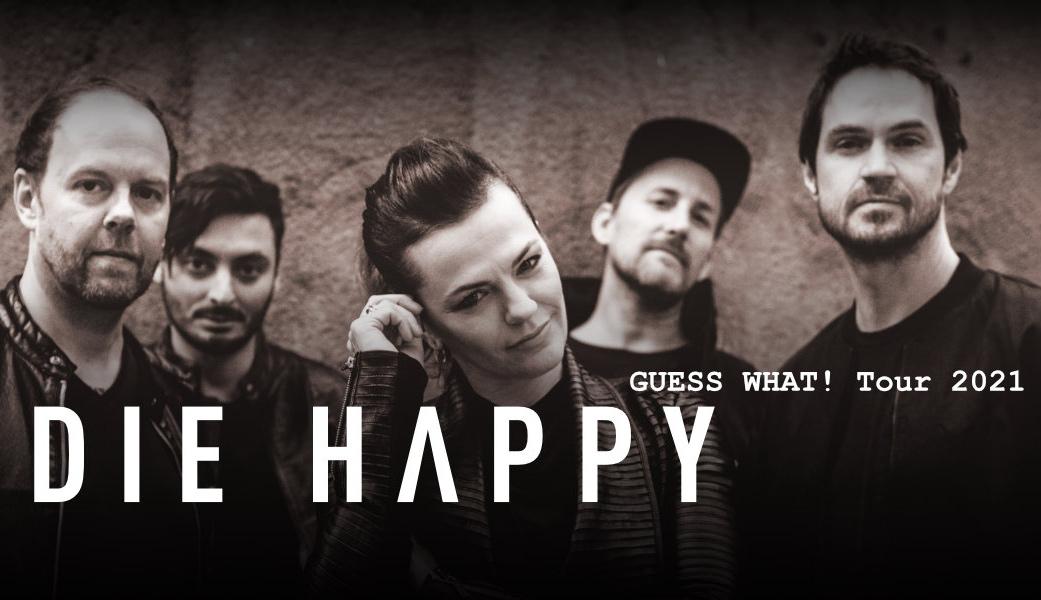 Die Happy vystoupí 19. října 2021 v Paláci Akropolis
