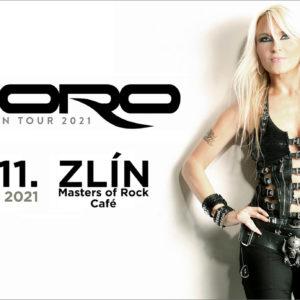 Metalová královna DORO vystoupí ve Zlíně 23. listopadu 2021