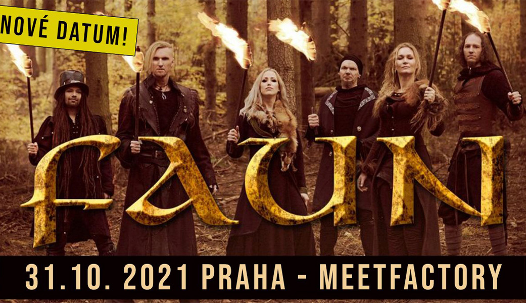 Kapela Faun zahraje 31. října 2021 v MeetFactory