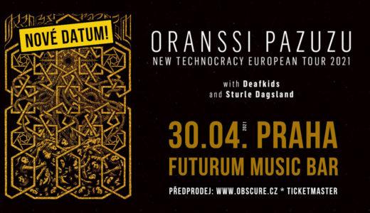 Oranssi Pazuzu vystoupí v Praze 30. dubna 2021