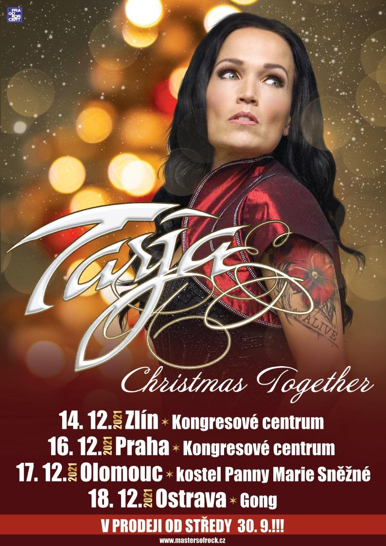 Tarja Turunen vystoupí 16. prosince 2021 v Praze