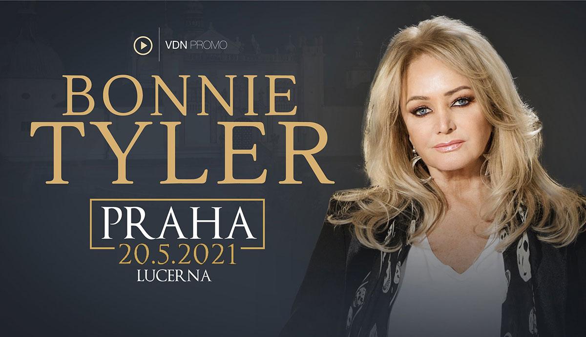 Bonnie Tyler vystoupí v Praze 20. května 2021