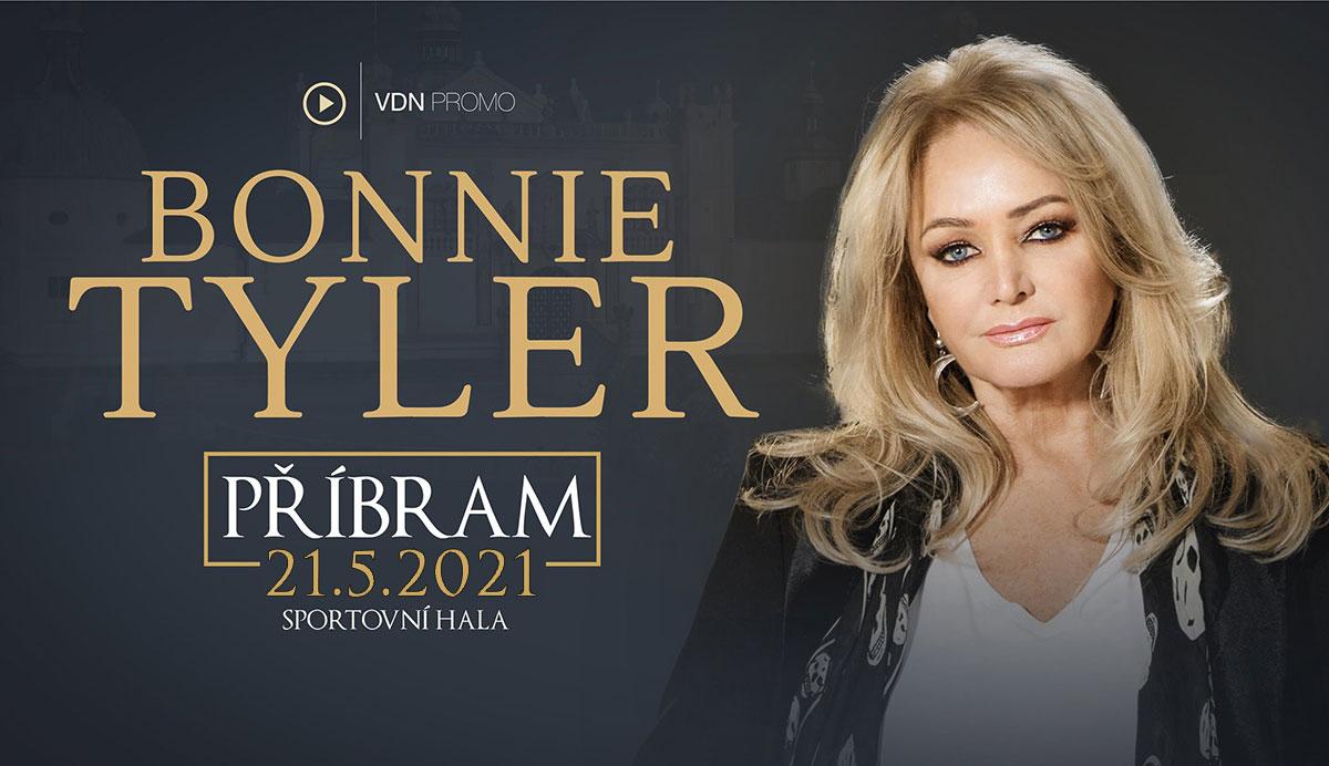 Bonnie Tyler vystoupí v Příbrami 21. května 2021