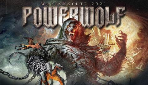 Powerwolf 17. října 2021 zahrají v pražské Tipsport Aréně