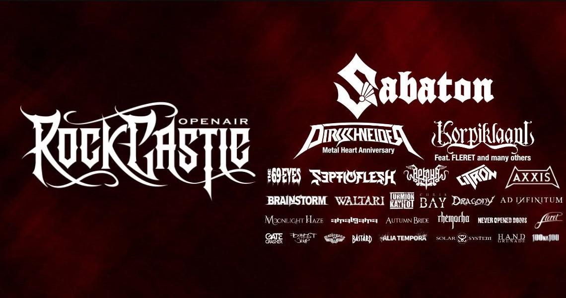 Zbrusu nový festival Rock Castle láká na Sabaton nebo Korpiklaani