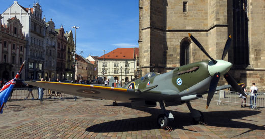 Supermarine Spitfire na Slavnostech svobody 2021